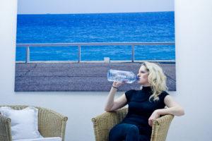 ganz viel Wasser bei 40 Tage fasten mit Yvonne