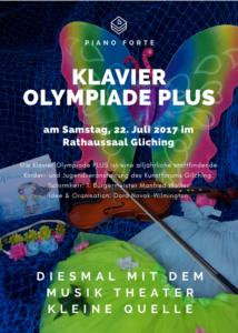 Klavierolympiade Plus mit dem Musik Theater Kleine Quelle