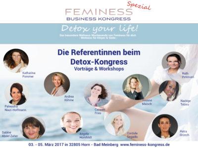 Yvonne Maisch Feminess Kongress - Detox your life