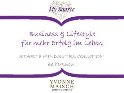 Yvonne Maisch MindsetRevolution Vortrag