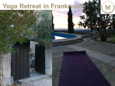Yoga Retreat in Frankreich mit Yvonne Maisch