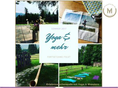 Yoga&Wandern auf der Berglalm_2017